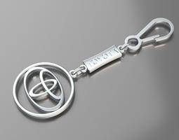 3d print model pendant toyota
