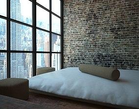 Industrial Bedroom 3D