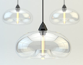 Zed home chandelier 3D model