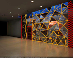 3D model KTV Bar Exterior
