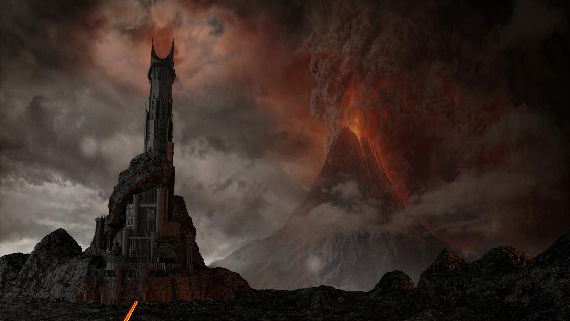 The Dark Tower of Barad-Dur
