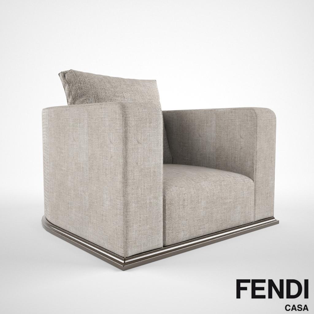 92b9f97a5ca3 Model fendi casa memoire cgtrader jpg 1024x1024 Fendi chair