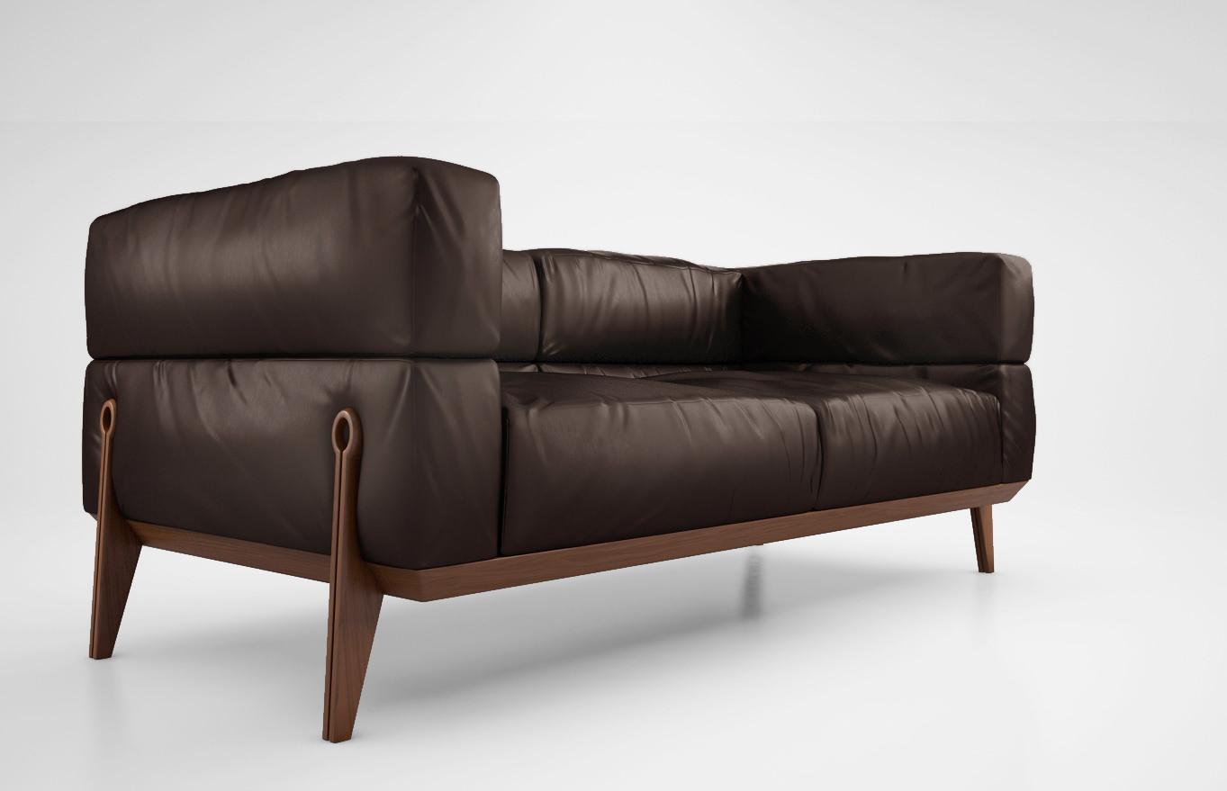 Giorgetti Ago Sofa Model Max Obj Mtl 1