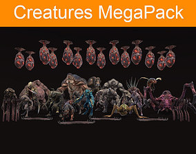 Creatures MegaPack 3D model