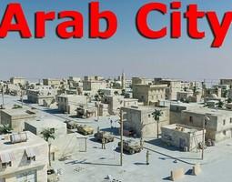 3D asset Arab City 01