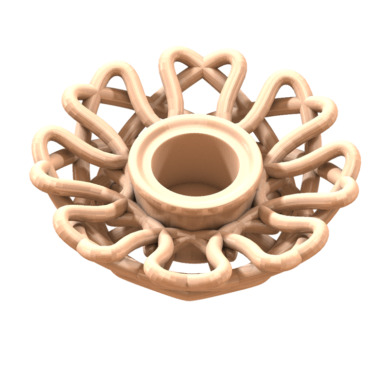 Candle Holder 3d Model 3d Printable Stl Cgtrader Com