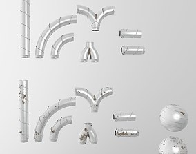 3D Alu pipes collection