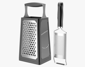 Grater Collection 3D model