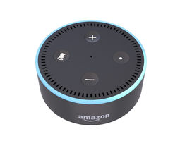 3D model animated Amazon Echo Dot