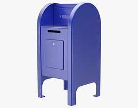 3D model Post Box 2