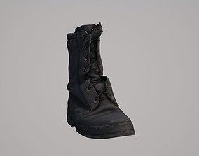Ankle boot 3D asset