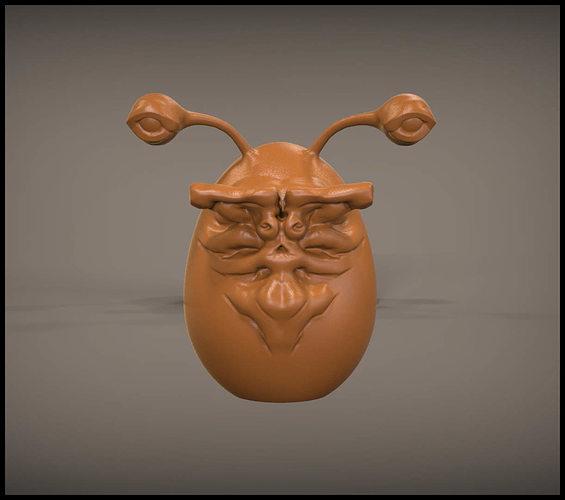 alien egg 3d model stl 1