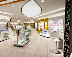 3D model Cosmetics Store