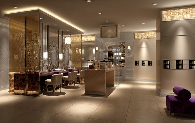 Luxury Locker Room 3d Cgtrader