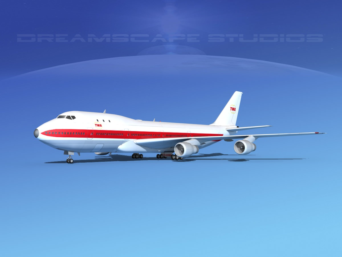 Boeing 747-100 TWA 1