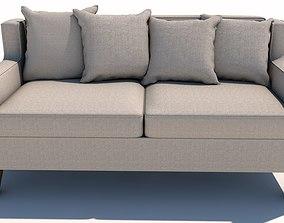 Cream Sofa 3D model