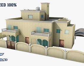 House Optimized 3D asset