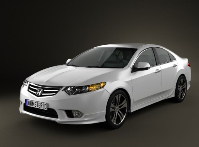 3d model honda accord sedan type s 2011 cgtrader for Honda accord base model