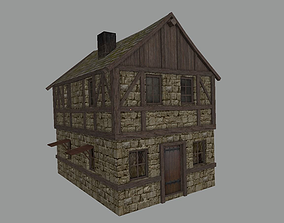 Medieval Town Building 2 3D