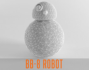 3D model BB 8 Droid Lowpoly BB8 Low Poly Robot