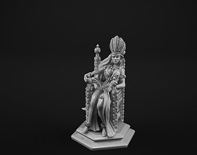 Queen fantasy 3D printable model