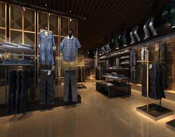 jeans shop 3D