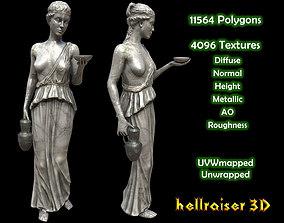 Victorian Statue - Textured 3D model