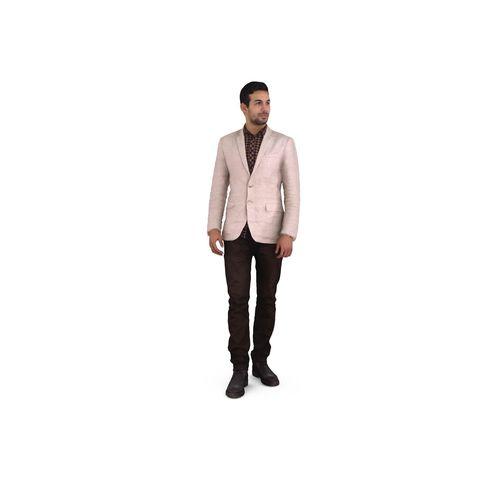 young businessman 3d model max obj mtl 3ds fbx stl 1