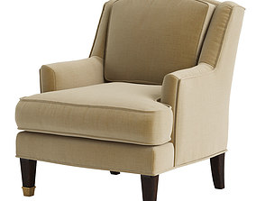 3D Baker Juliette Loose Back Chair