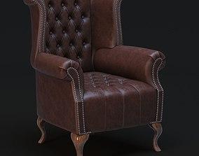 3D model Chesterfield Queen Anne