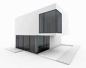 3D Minimal Modern House