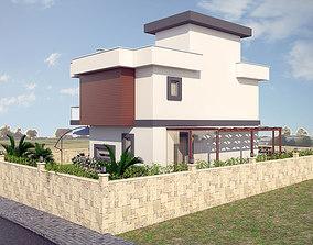 2 Story House 3D model