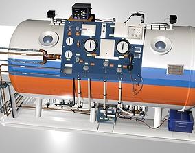 Hyperbaric Chamber 3D asset