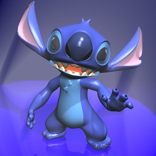 Stitch Rigged Character