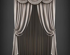 Curtain 3D model 239 realtime