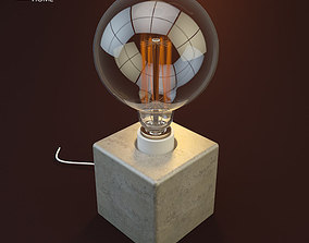 3D model Gramercy Home - Cube Table Lamp