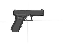 glock 17 3D print model