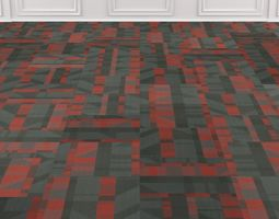 Wall to Wall Carpet Tile No 4 3D model