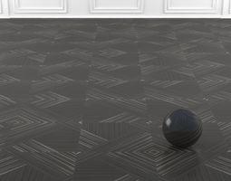 3D model Wall to Wall LVT Floor No 3