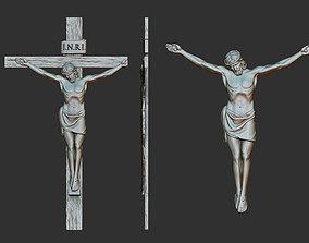 Crucifix Relief 3D printable model
