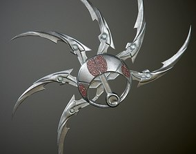 3D model Predator shuriken