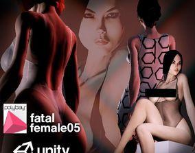 Fatal Female 05 for Unity 3D asset