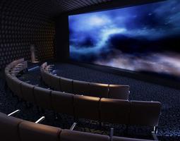 3D model Exquisite Theater Interior
