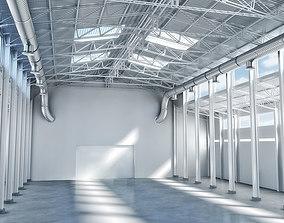 3D Warehouse interior