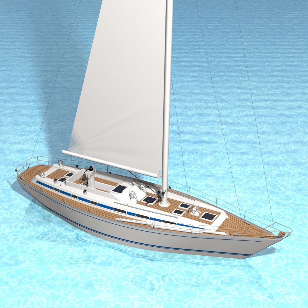 Swan 55 Sailboat