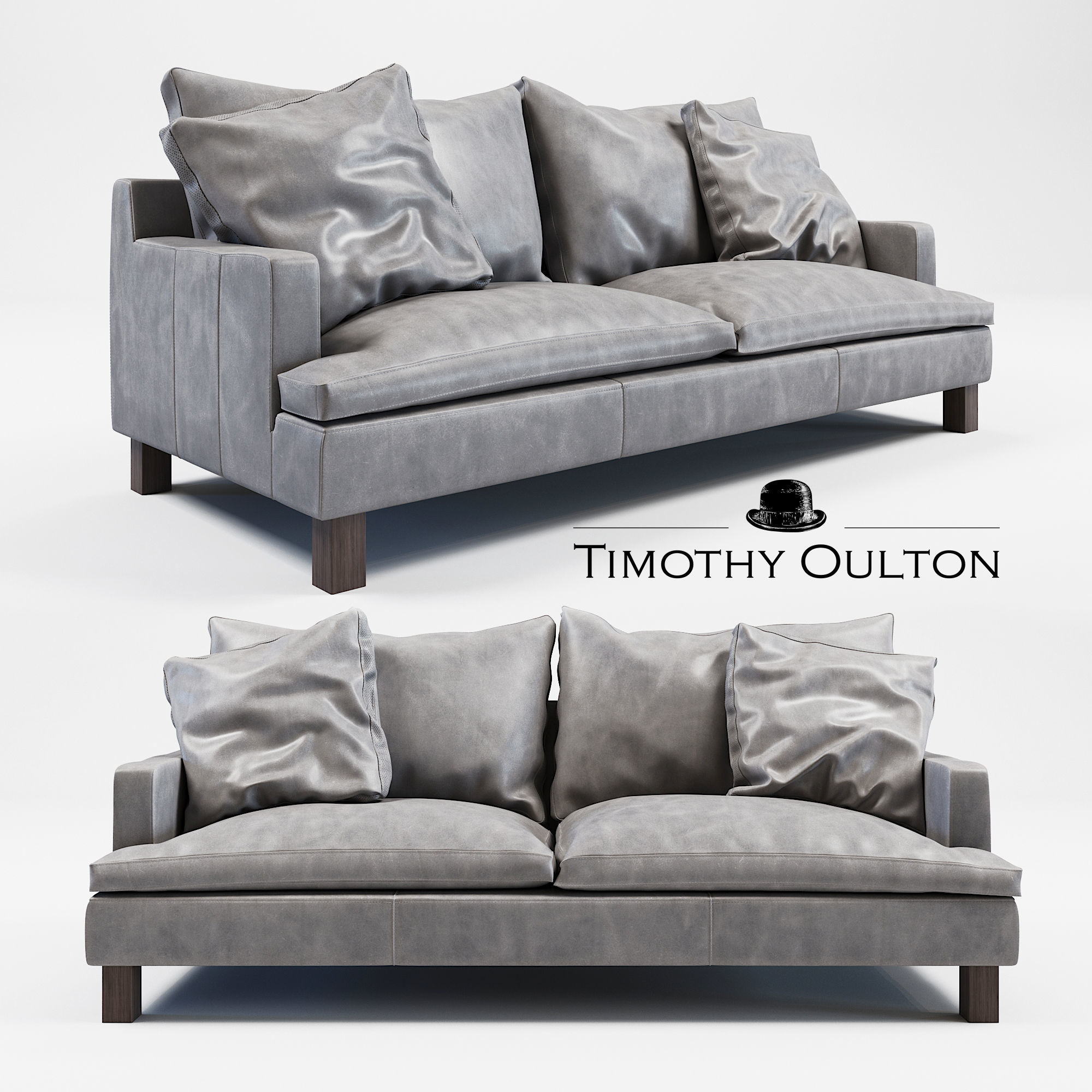 Model Timothy Oulton Lux Sofa Cgtrader