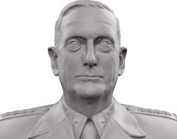 General James Mad Dog Mattis 3D print model