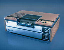 game-ready Videocassete Recorder