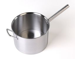 3D Pan with handle