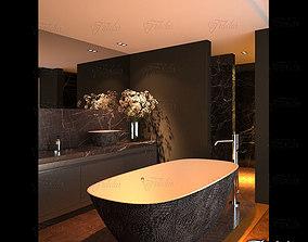 carpet Bathroom 3D model